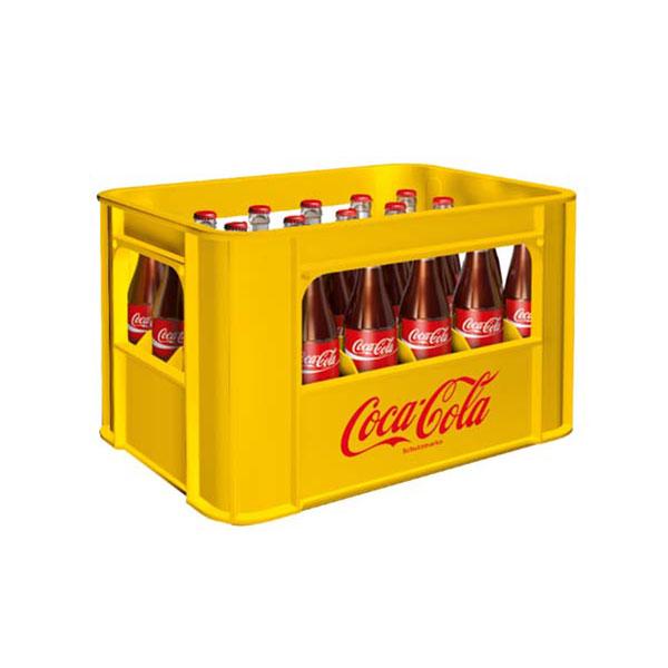Coca Cola Zero 24×0,33 Glas  MEHRWEG